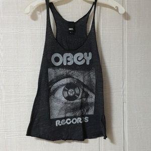 Obey tank top